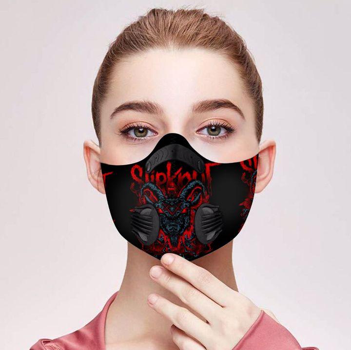 Slipknot satanic carbon pm 2,5 face mask 4