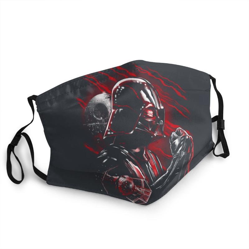 Star wars darth vader death star anti-dust face mask 3