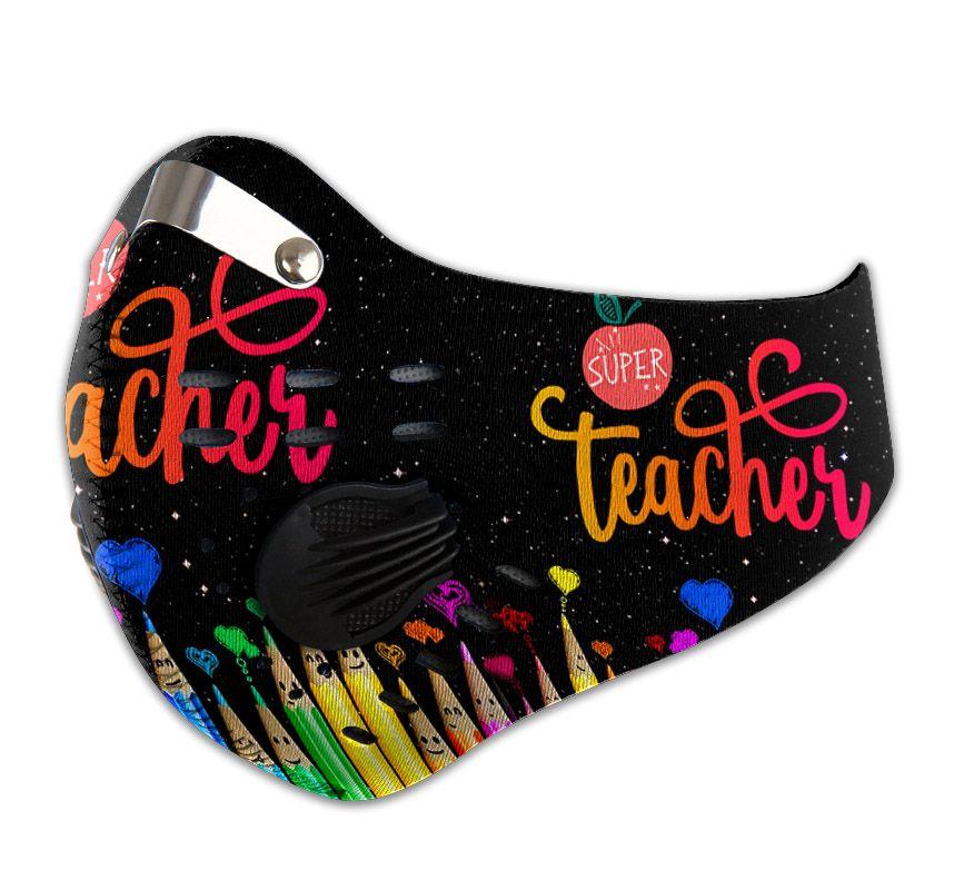 Super teacher carbon pm 2,5 face mask 4