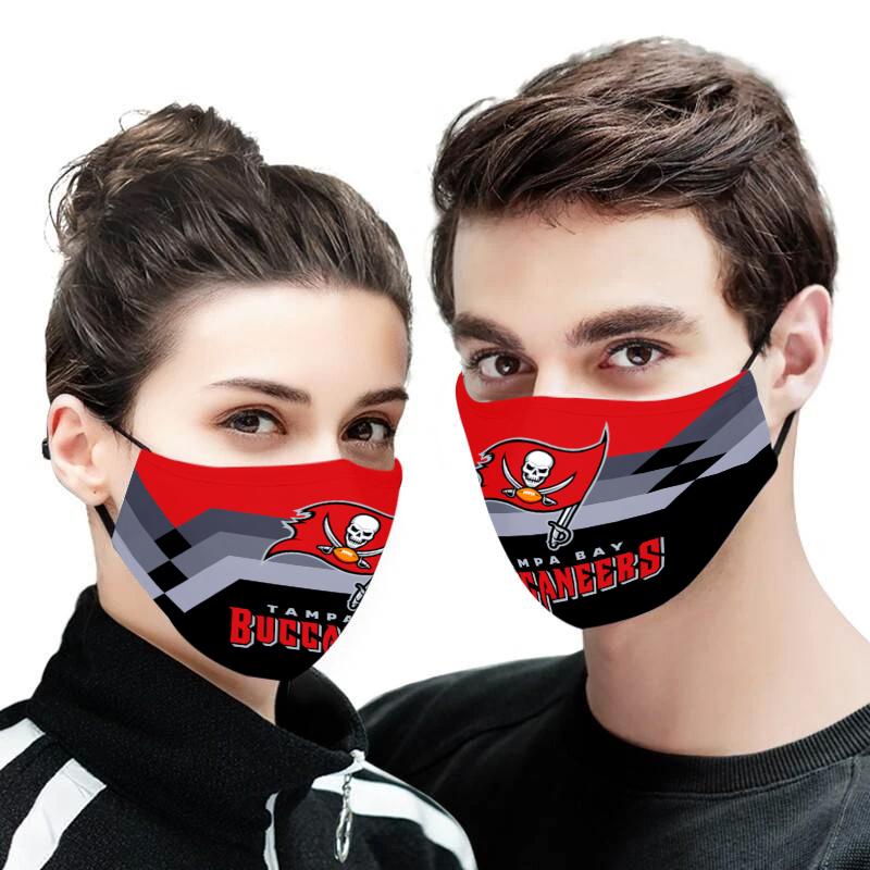 Tampa bay buccaneers full printing face mask 1