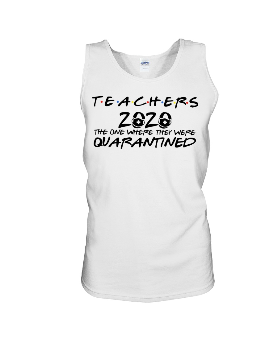 Teacher 2020 the one where they were quarantined friends tv show tank top