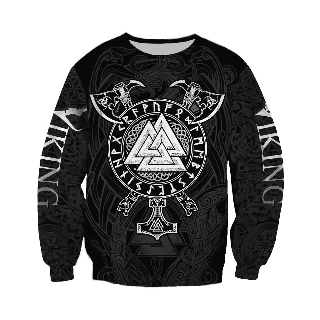 Viking valknut full over print sweatshirt