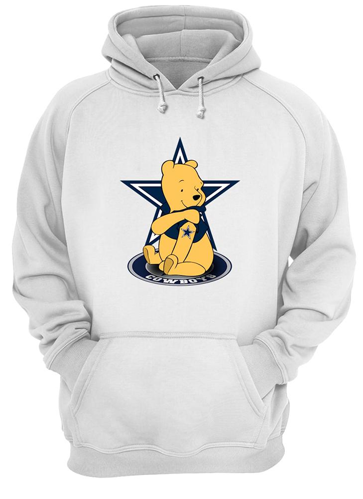 Winnie the pooh dallas cowboys nfl hoodie