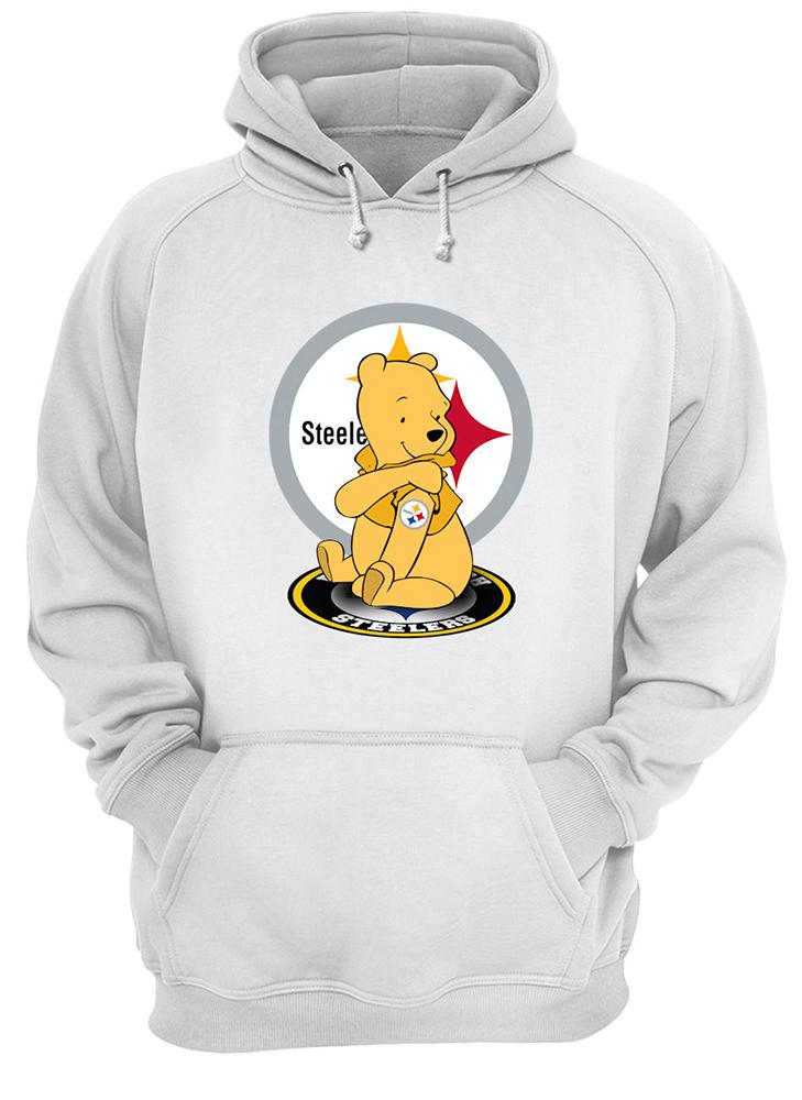 Winnie the pooh pittsburgh steelers nfl hoodie