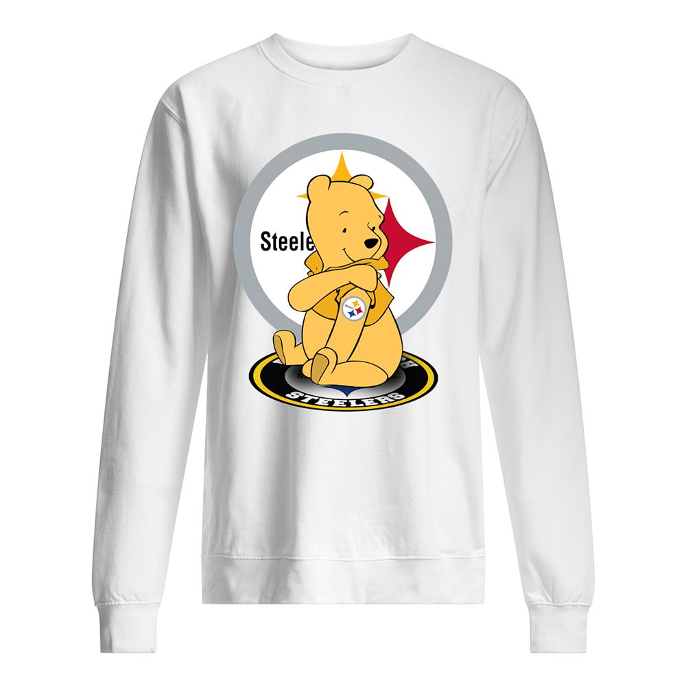 Winnie the pooh pittsburgh steelers nfl sweatshirt