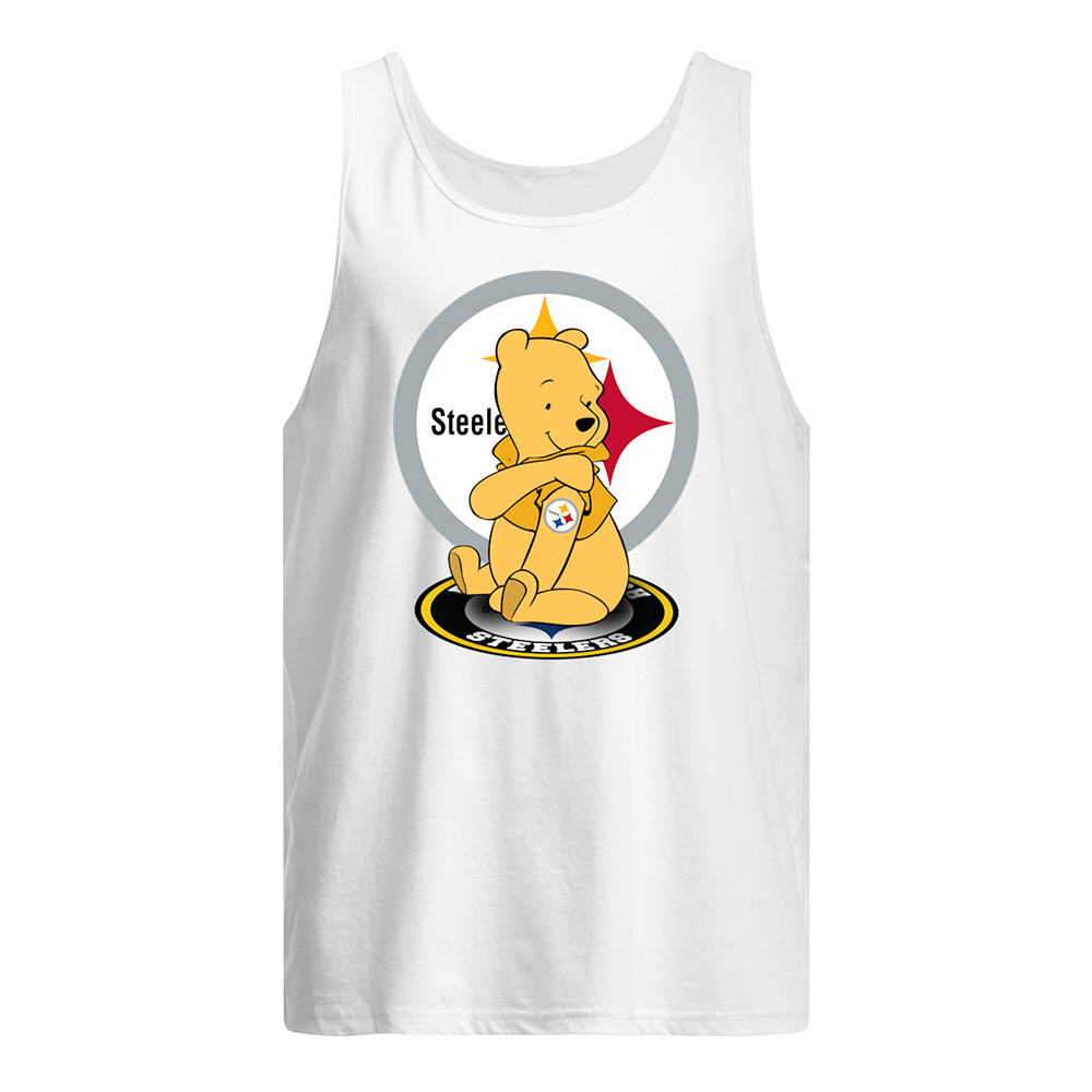 Winnie the pooh pittsburgh steelers nfl tank top