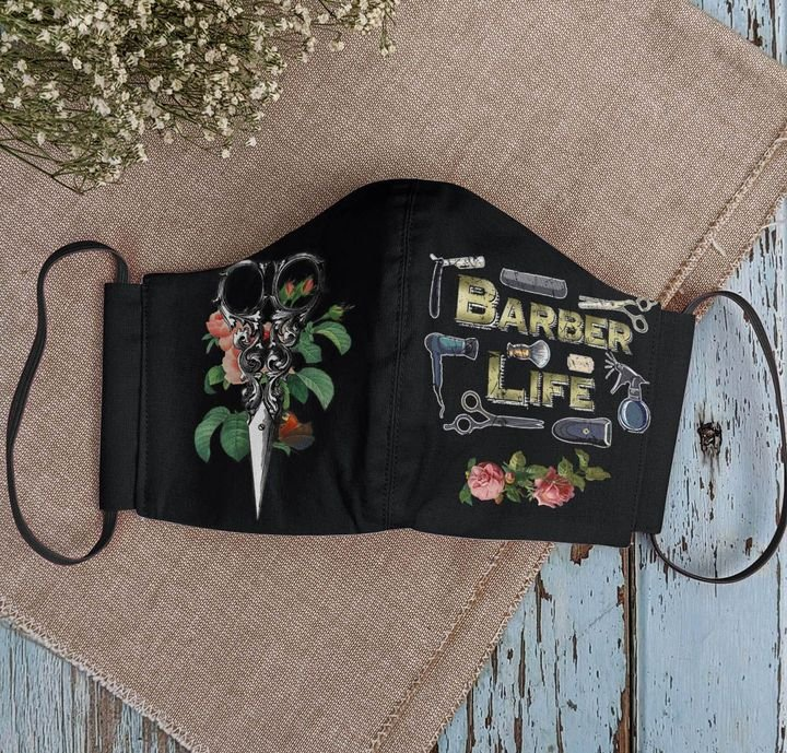 Floral baber life anti-dust face mask 1