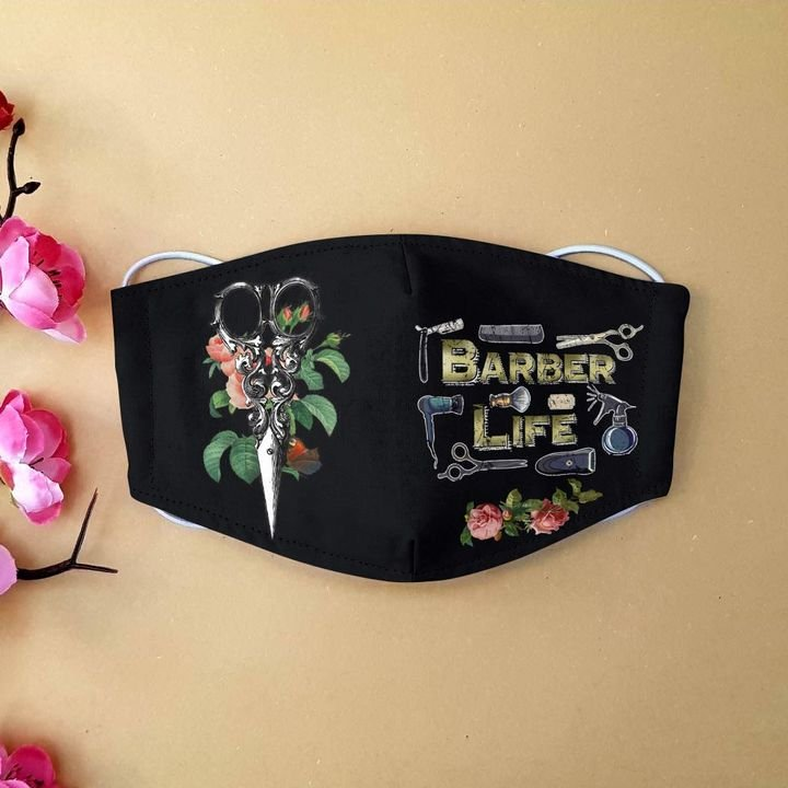 Floral baber life anti-dust face mask 4