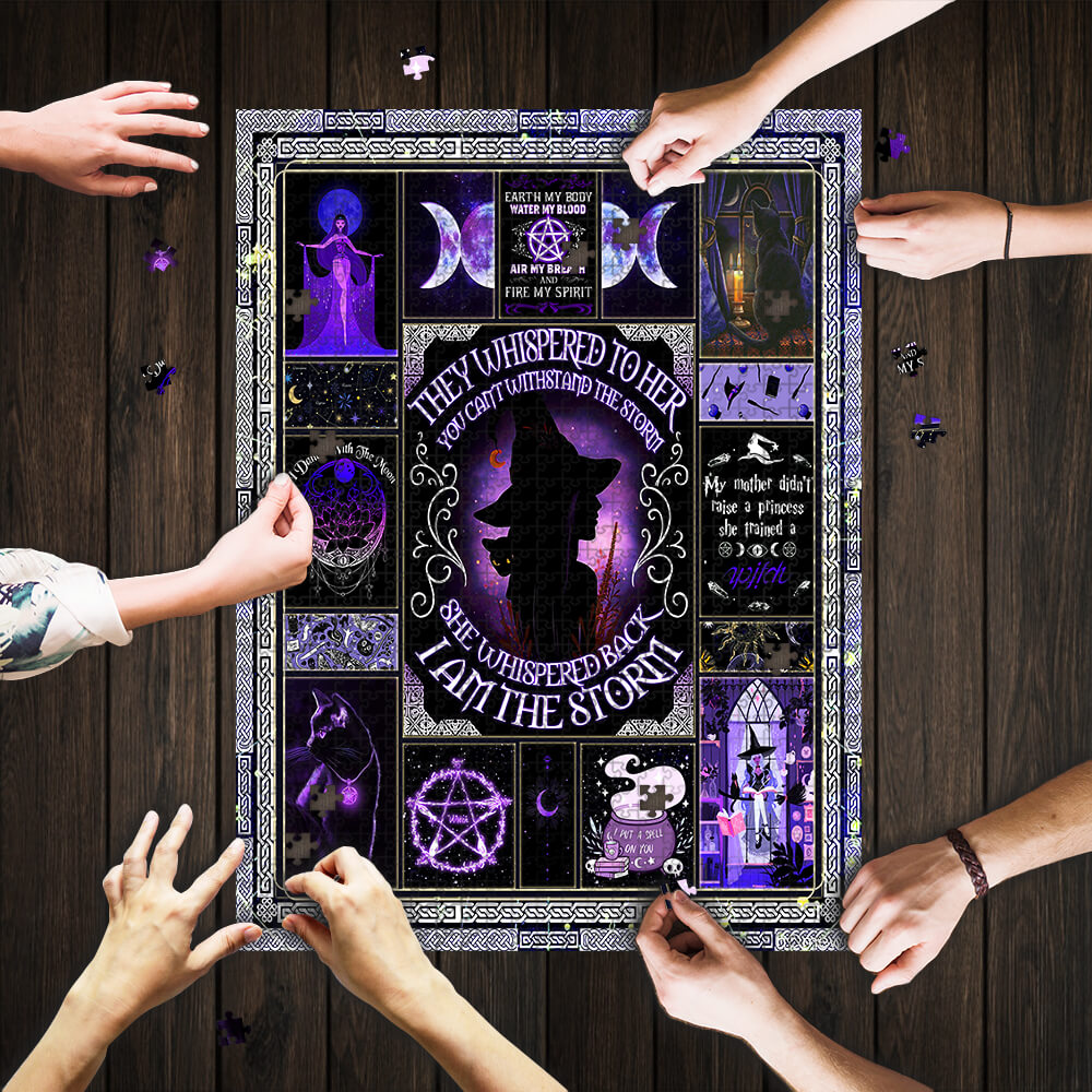I am the storm witch jigsaw puzzle 1