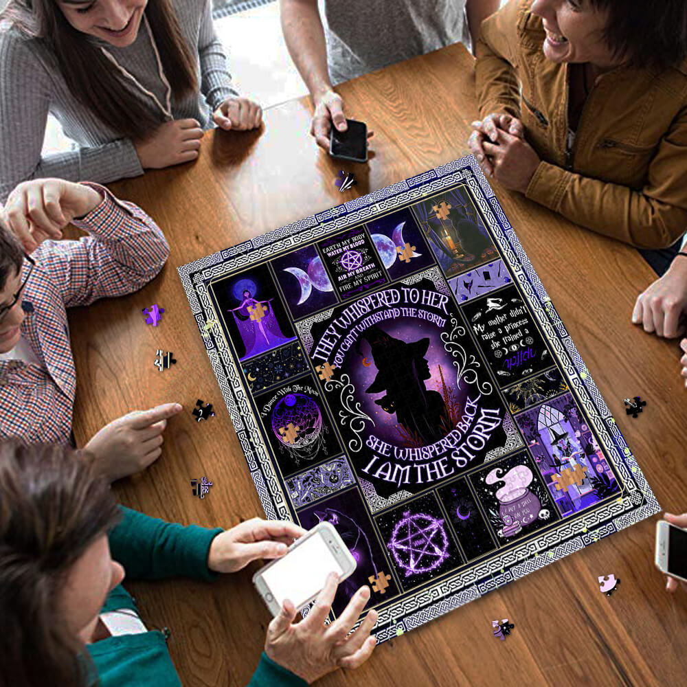 I am the storm witch jigsaw puzzle 3