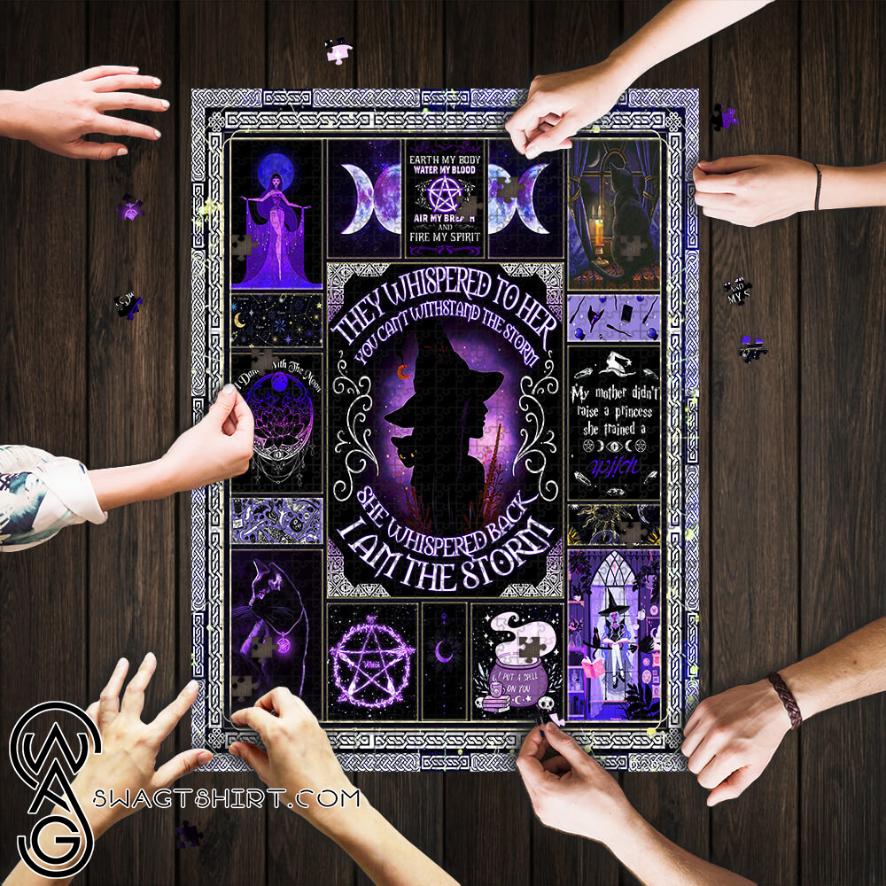 I am the storm witch jigsaw puzzle