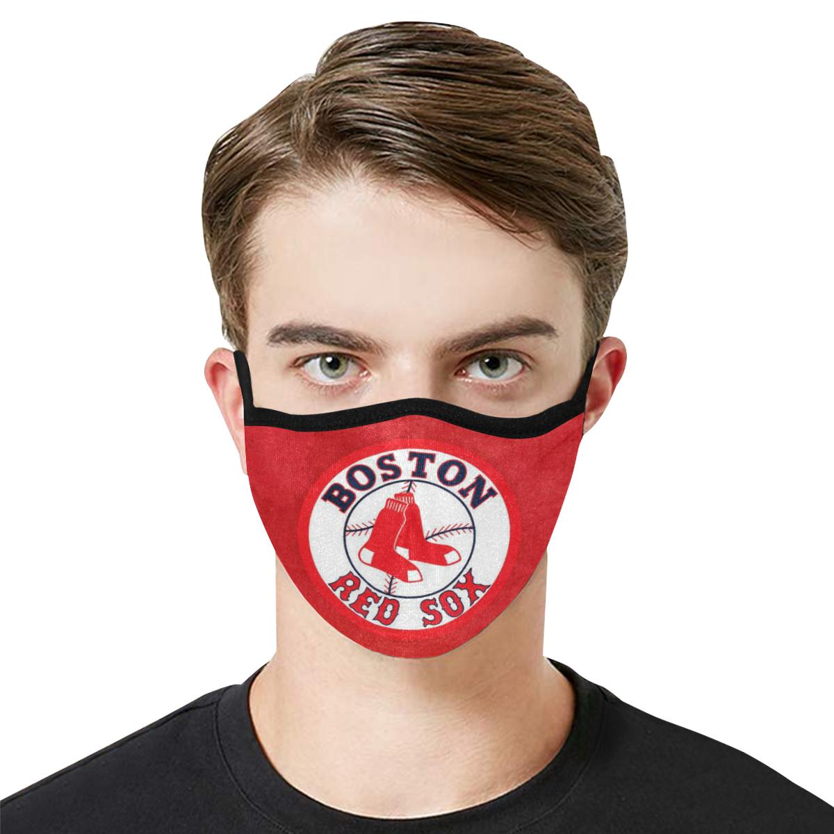 Major league baseball boston red sox anti-dust cotton face mask 1