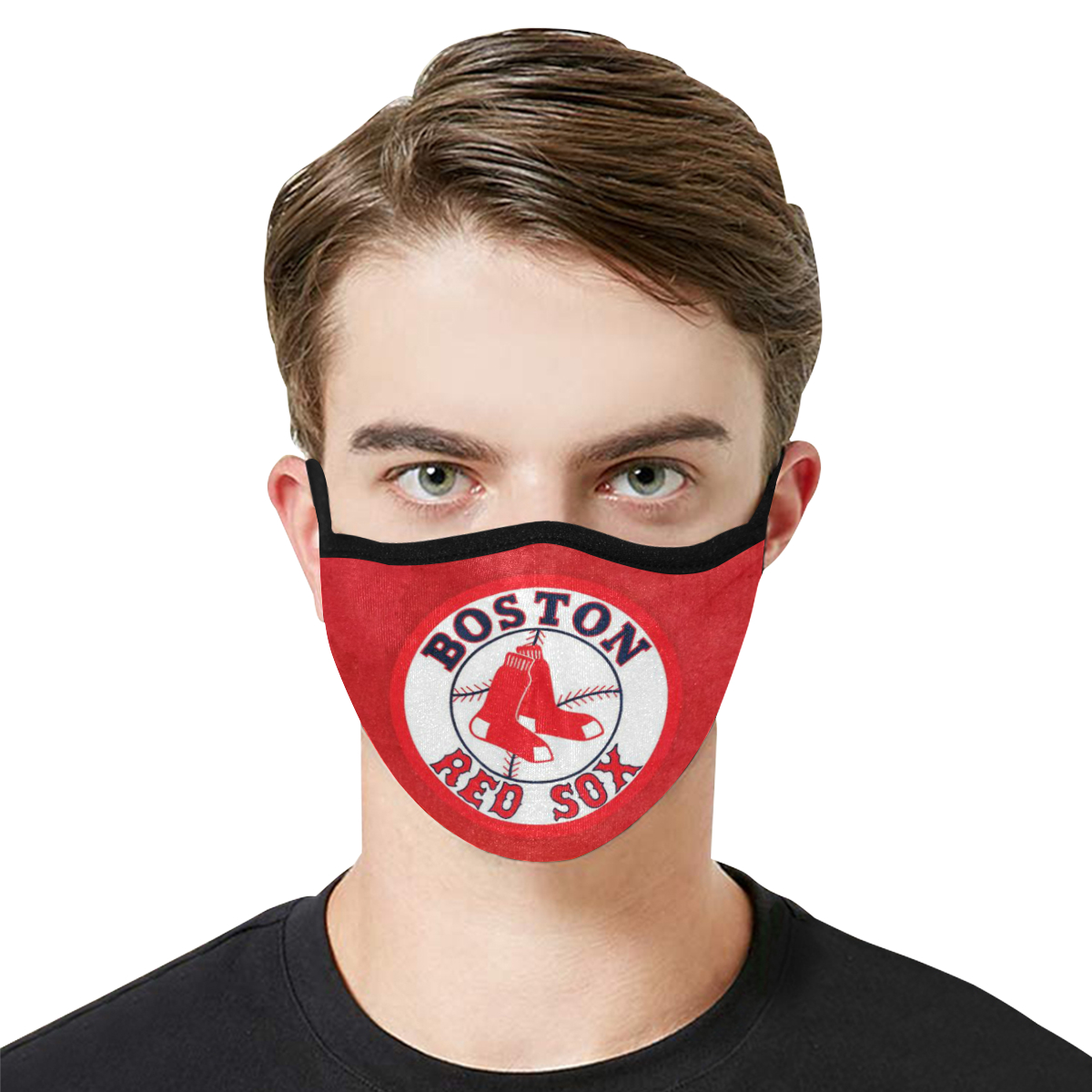 Major league baseball boston red sox anti-dust cotton face mask 2