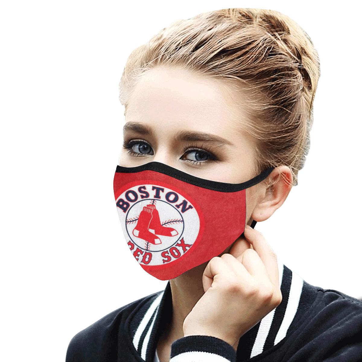 Major league baseball boston red sox anti-dust cotton face mask 4