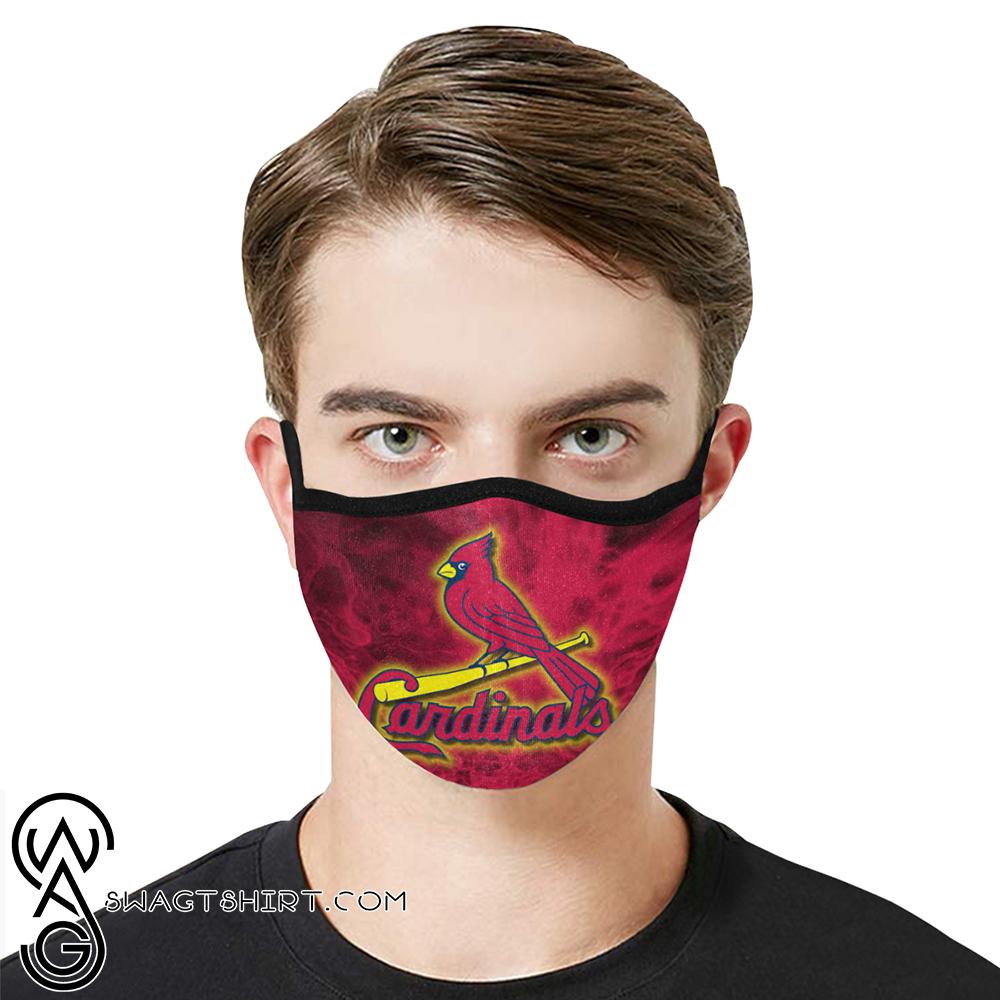 Major league baseball st louis cardinals cotton face mask
