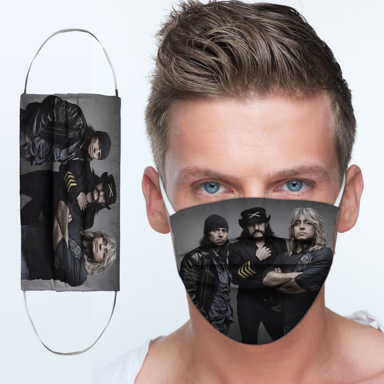 Motorhead rock band anti-dust cotton face mask 3