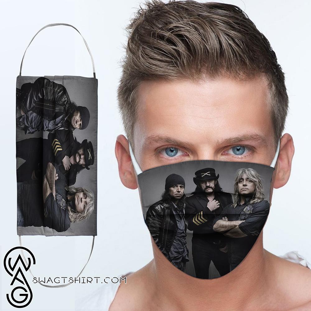Motorhead rock band anti-dust cotton face mask