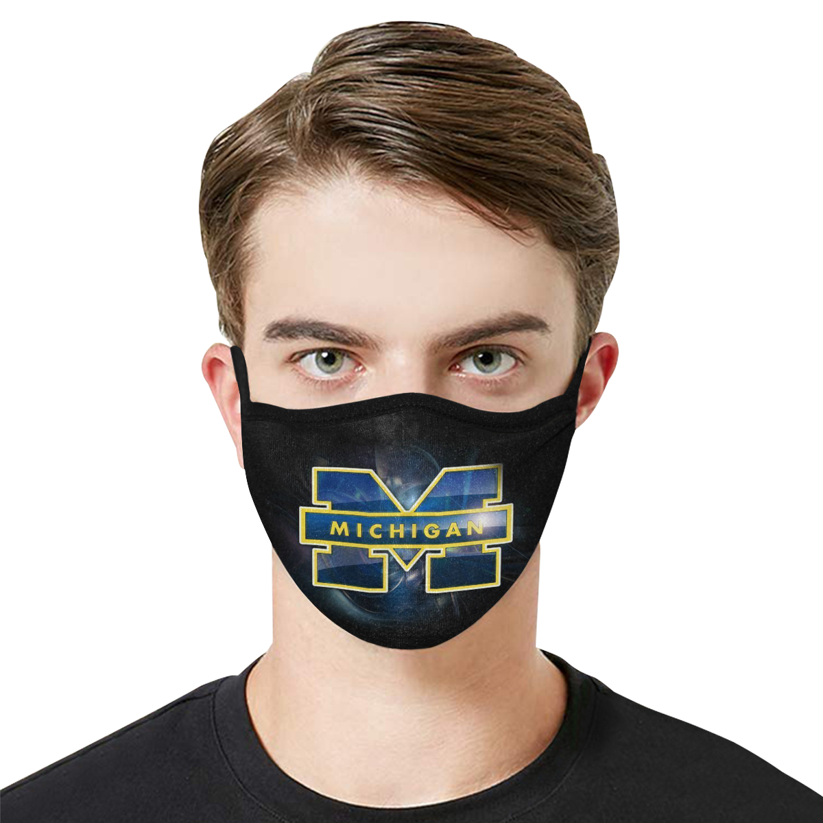National football league michigan wolverines cotton face mask 4