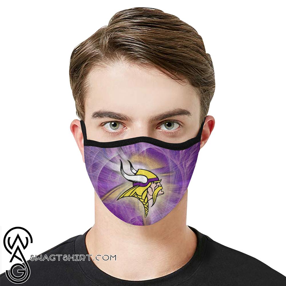 National football league minnesota vikings cotton face mask