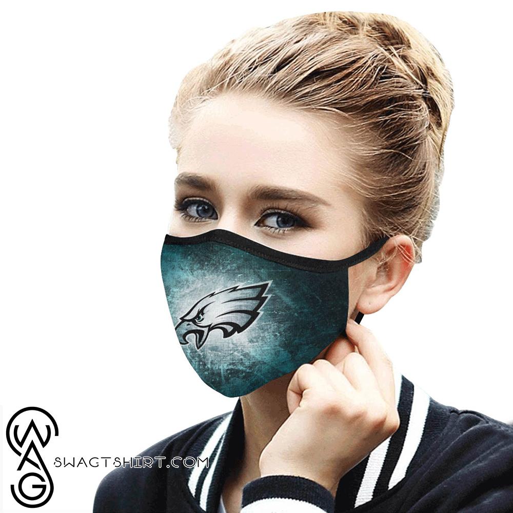 National football league philadelphia eagles cotton face mask
