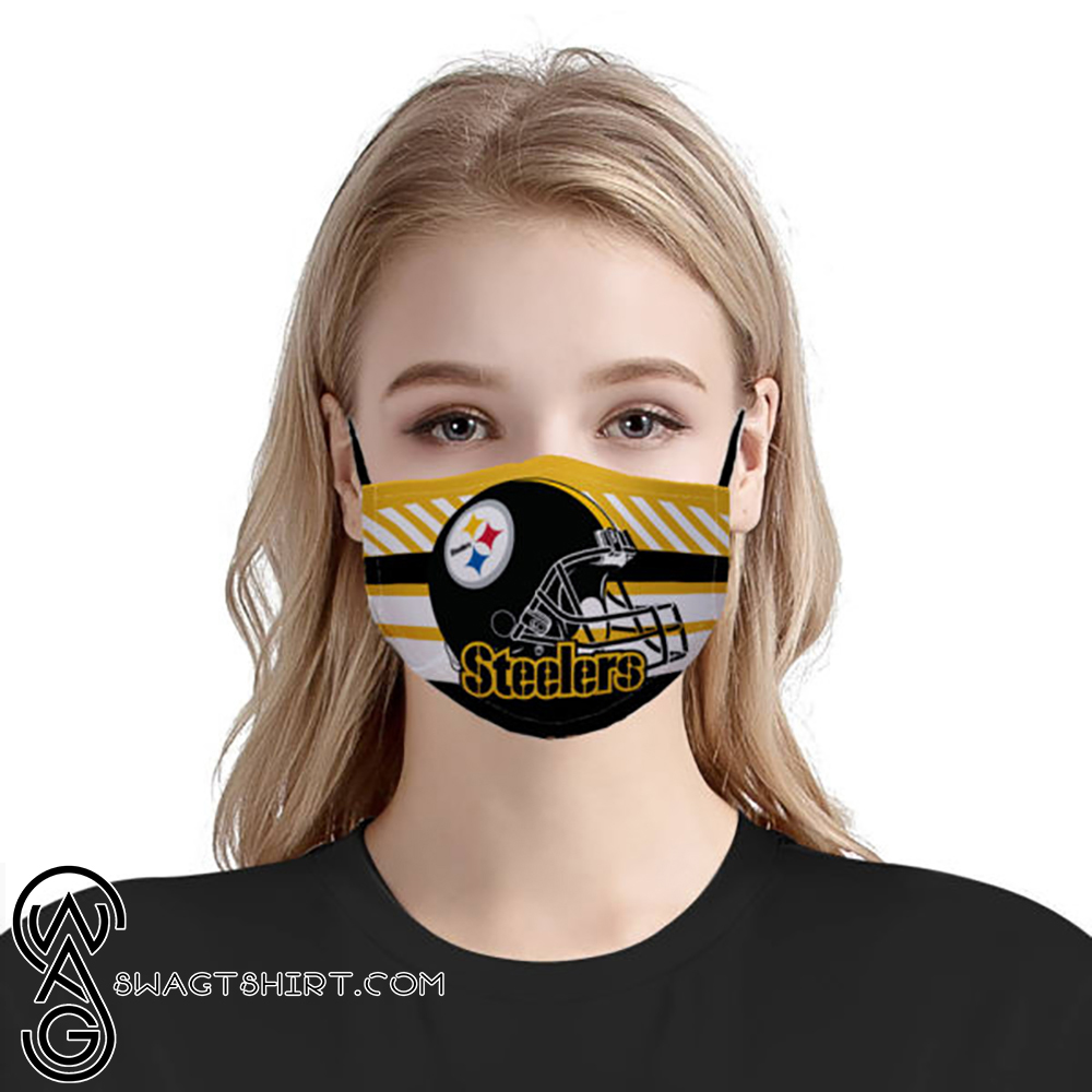 National football league pittsburgh steelers team anti-dust cotton face mask