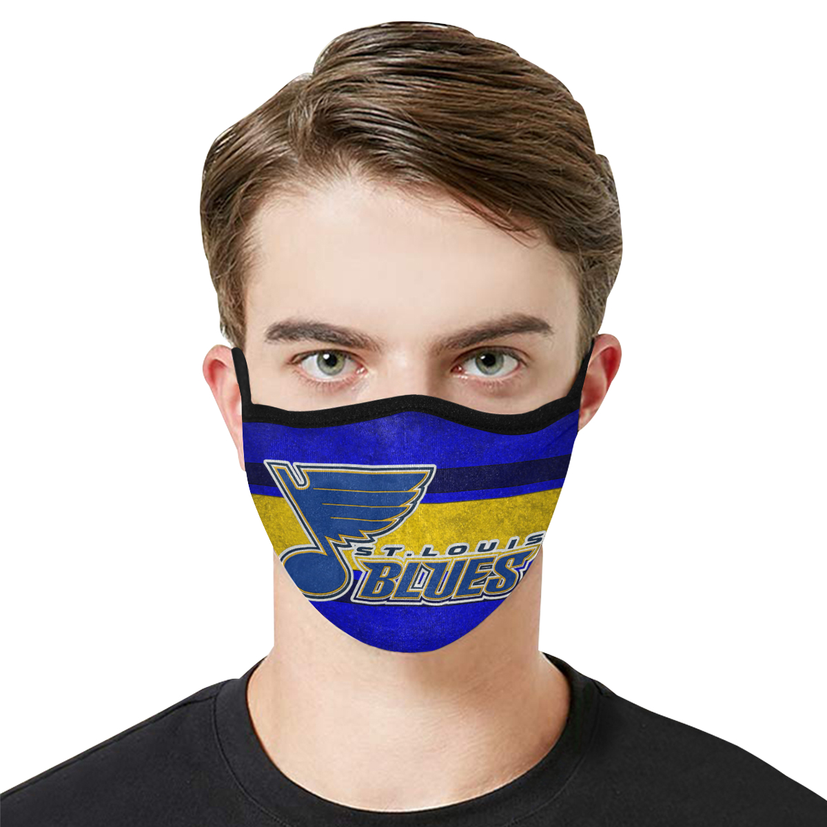 National hockey league st louis blues cotton face mask 1