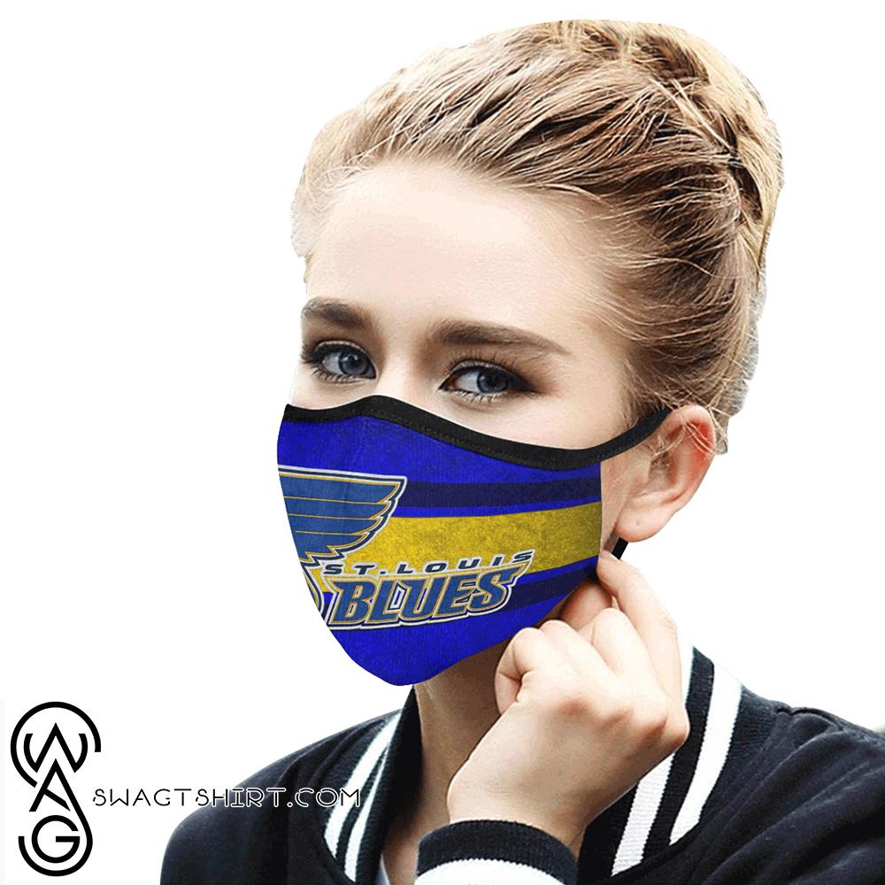 National hockey league st louis blues cotton face mask