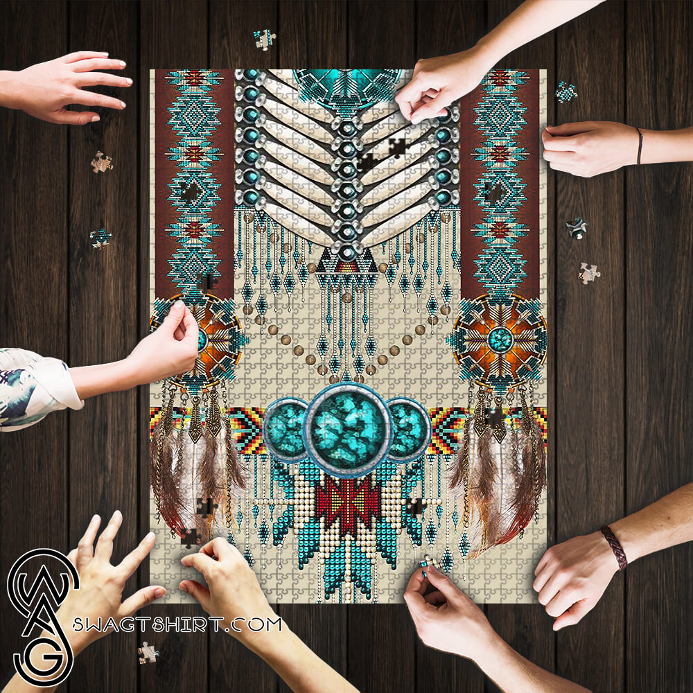 Native american pattern puzzle