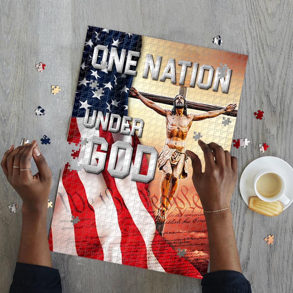 One nation under god jigsaw puzzle 2