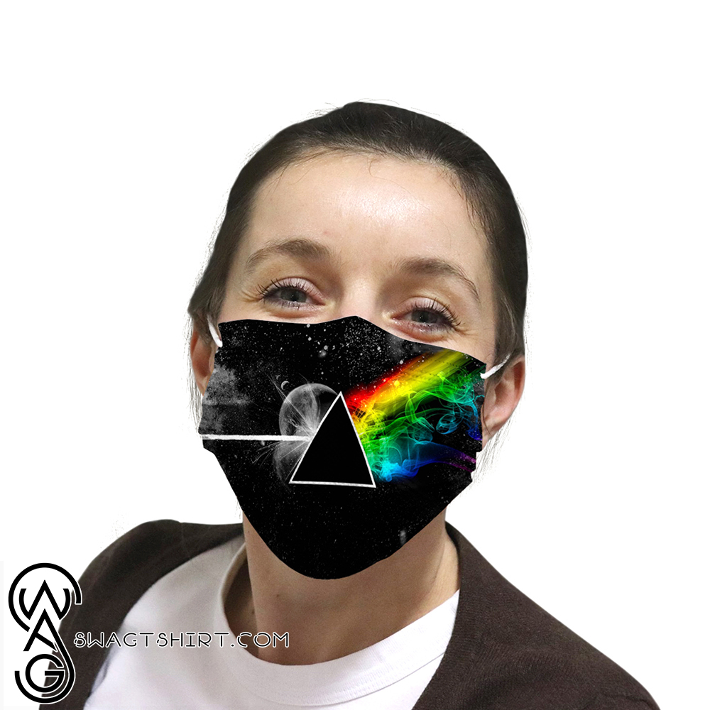Pink floyd the dark side of the moon anti-dust cotton face mask