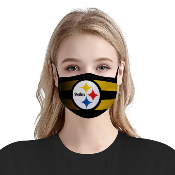 Pittsburgh steelers national football league anti-dust cotton face mask 2