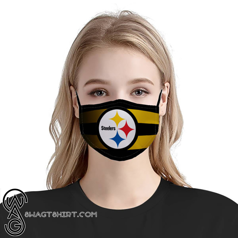 Pittsburgh steelers national football league anti-dust cotton face mask