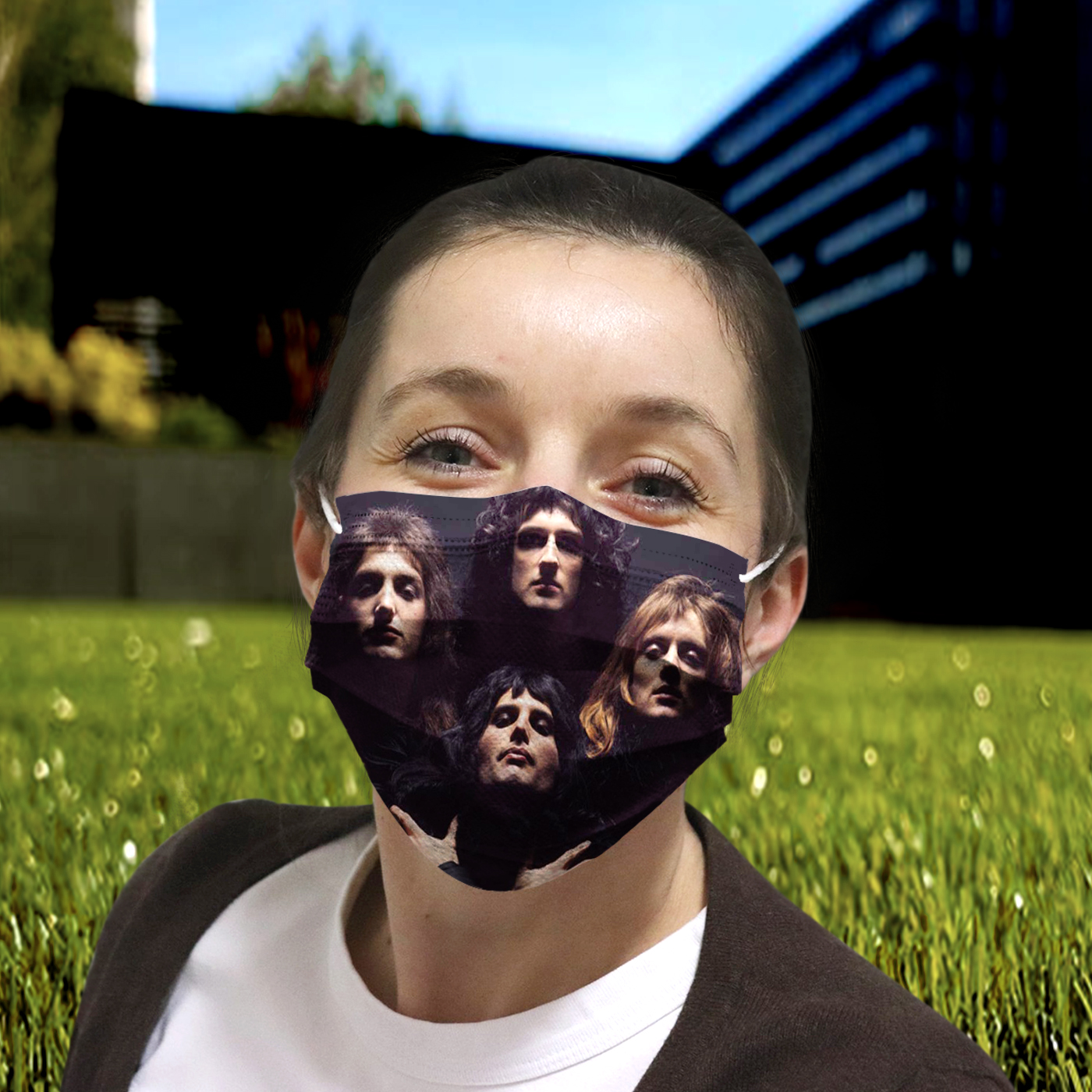 Queen rock band anti-dust cotton face mask 4