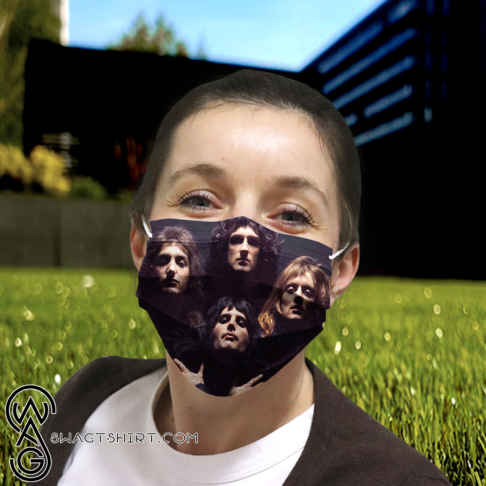 Queen rock band anti-dust cotton face mask