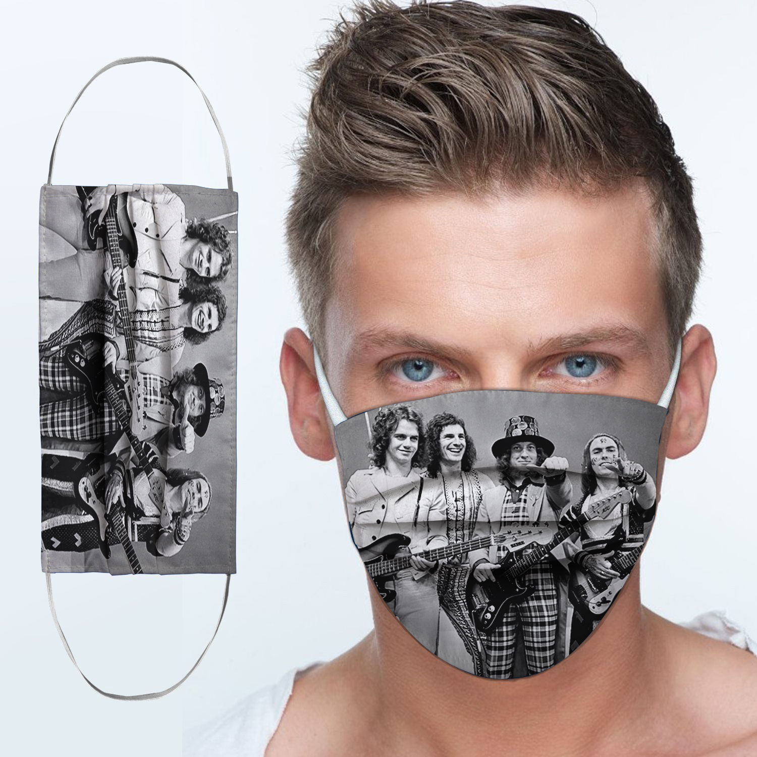Slade rock band anti-dust cotton face mask 3