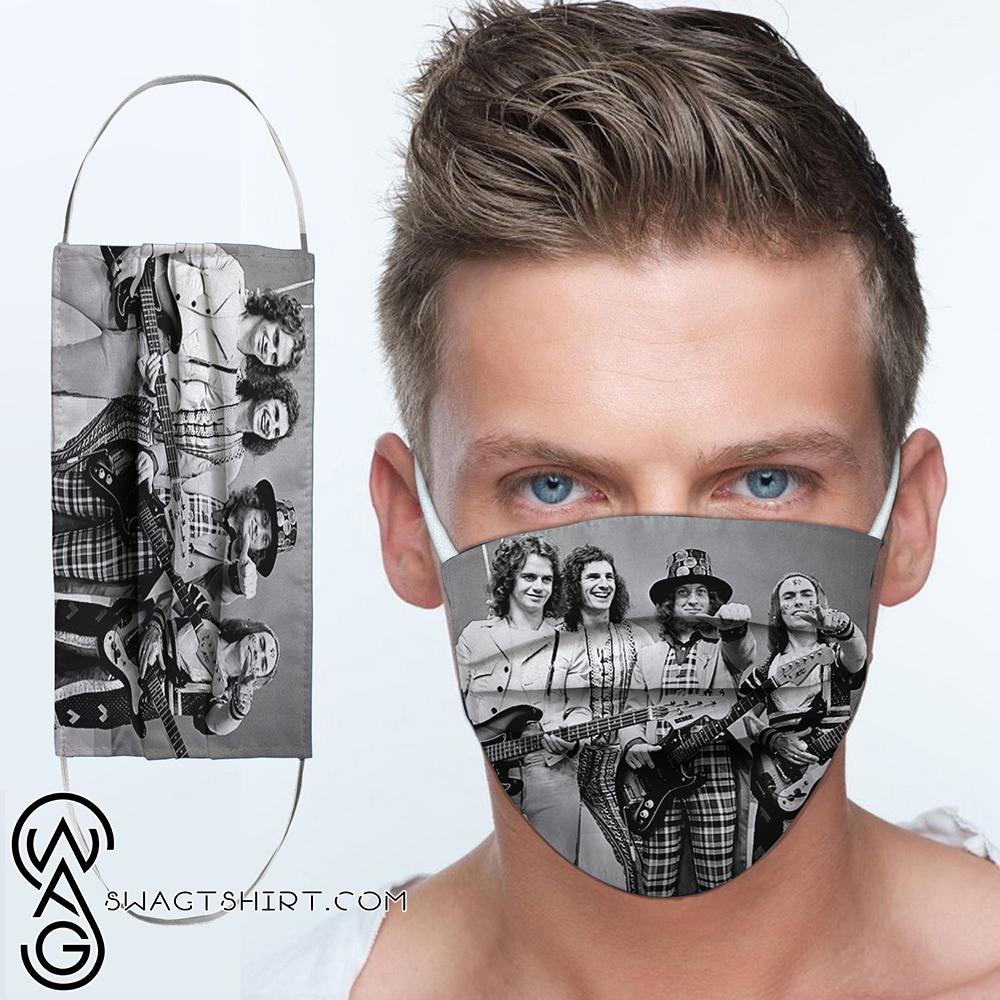 Slade rock band anti-dust cotton face mask