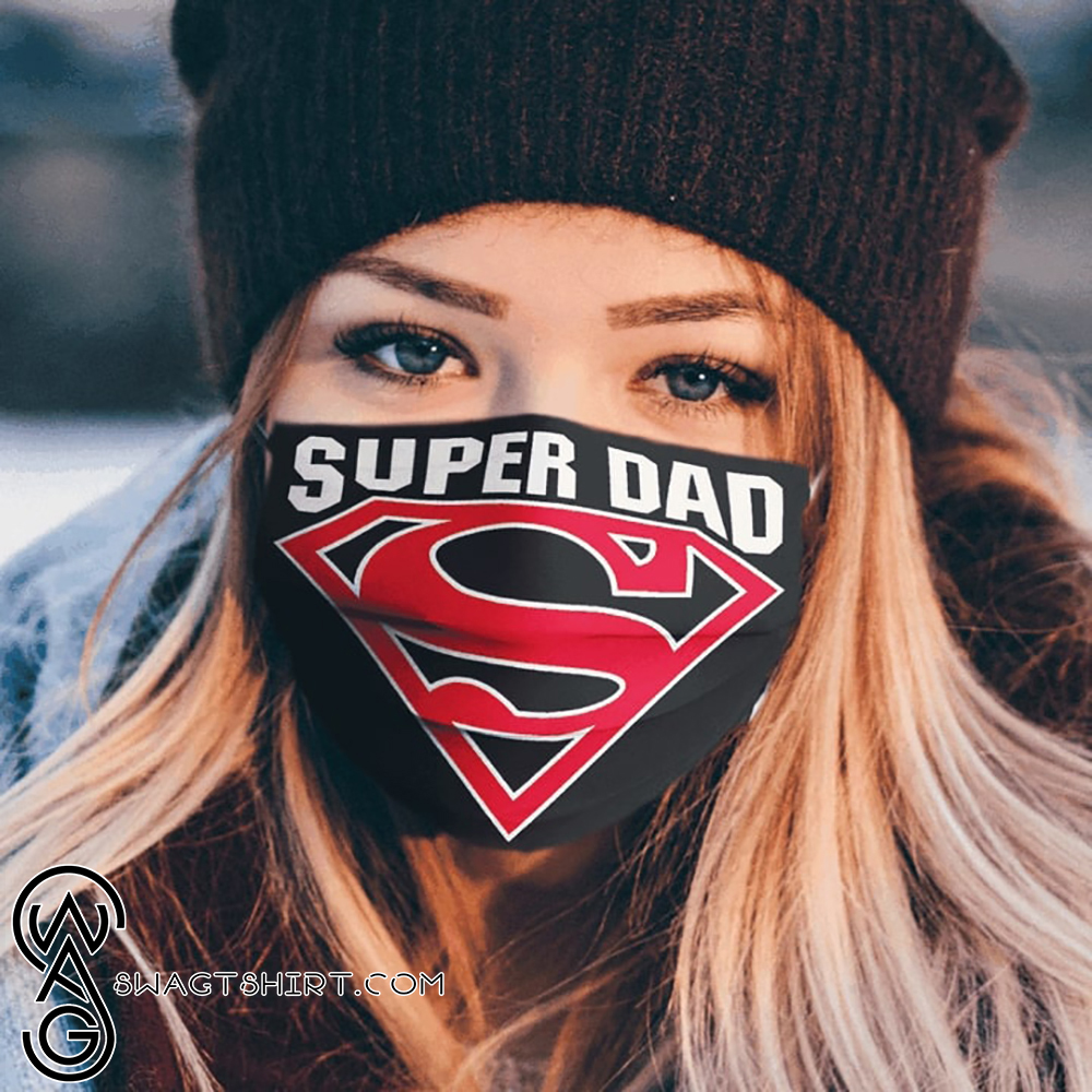 Super dad father_s day anti-dust cotton face mask