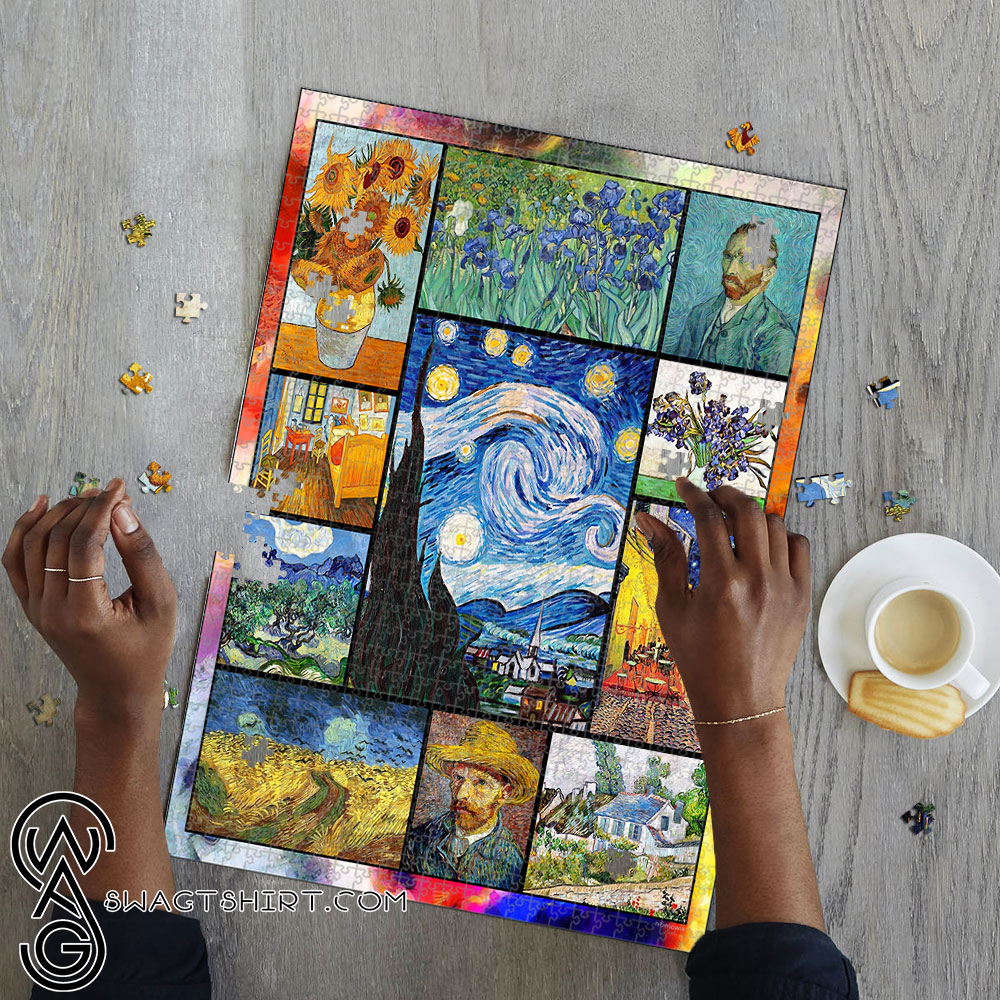 Vincent van gogh paintings starry night jigsaw puzzle