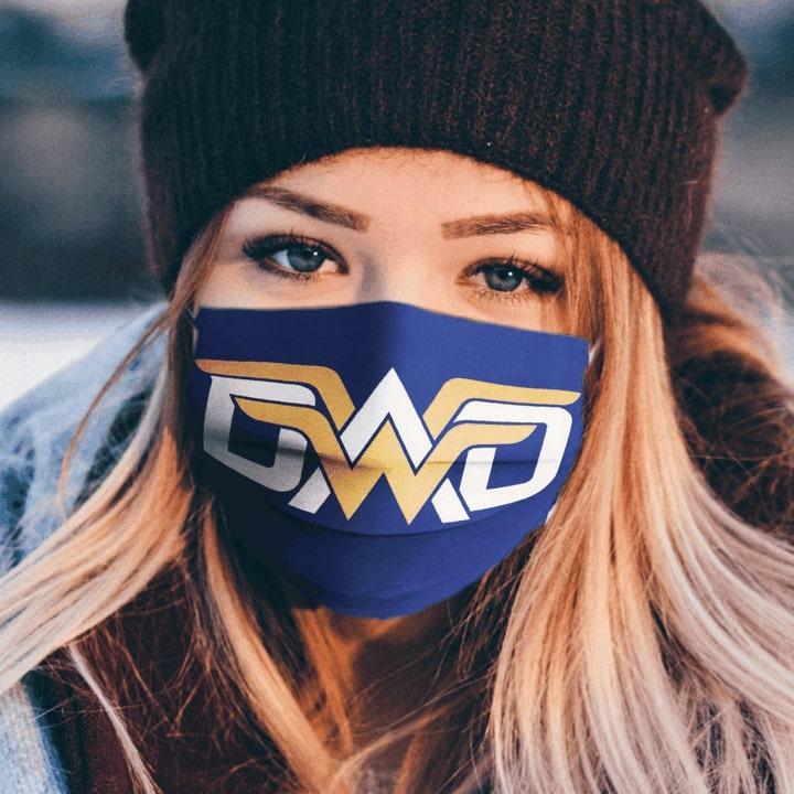 Wonder dad super daddy anti-dust cotton face mask 1