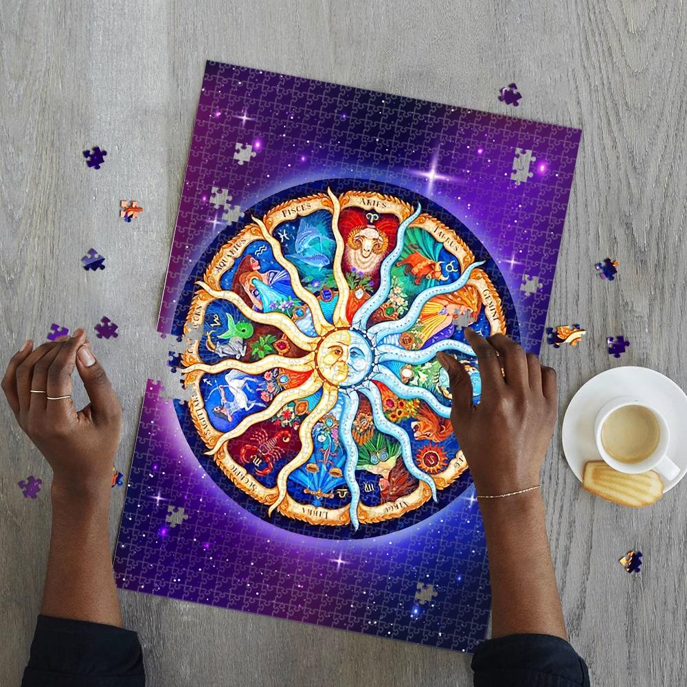 Zodiac horoscope jigsaw puzzle 2