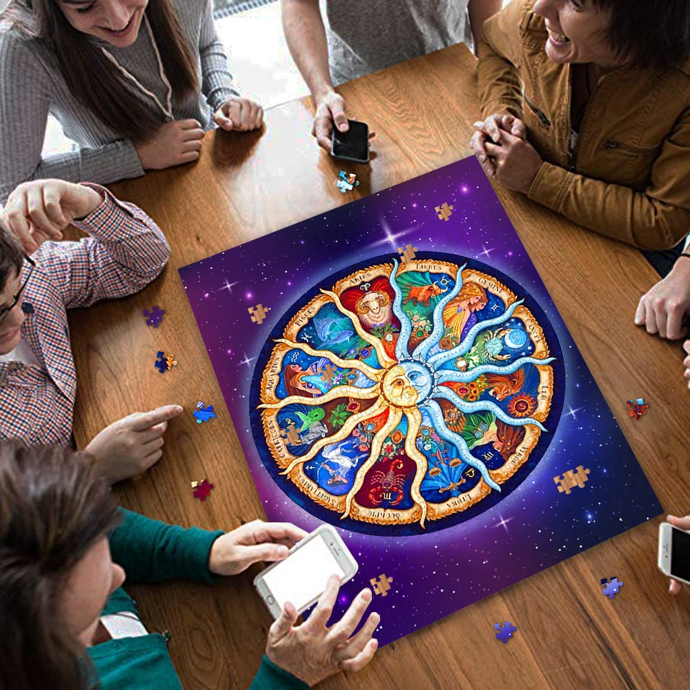 Zodiac horoscope jigsaw puzzle 4