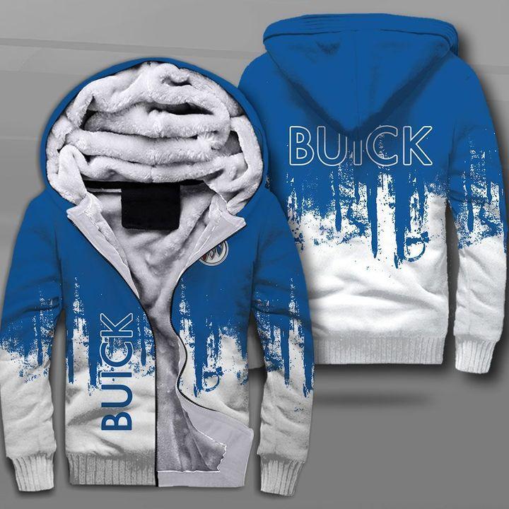 Buick car logo full printing fleece hoodie