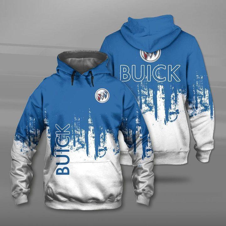 Buick car logo full printing hoodie