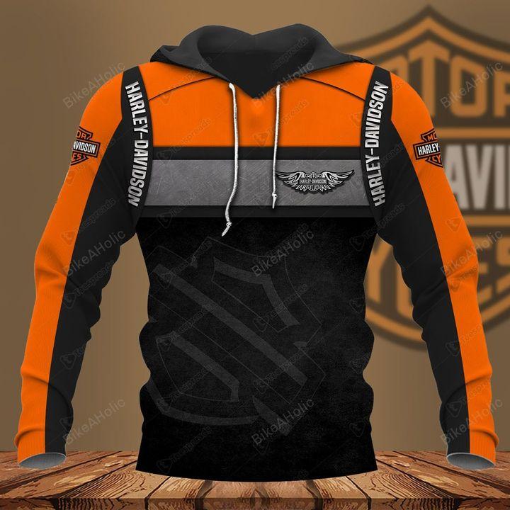 Harley-davidson motorcycle hoodie
