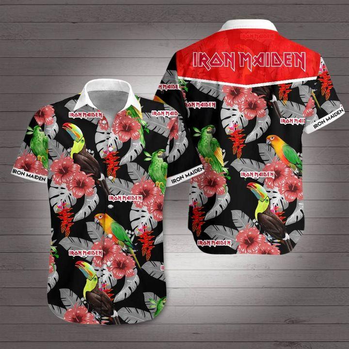 Iron maiden hawaiian shirt 1