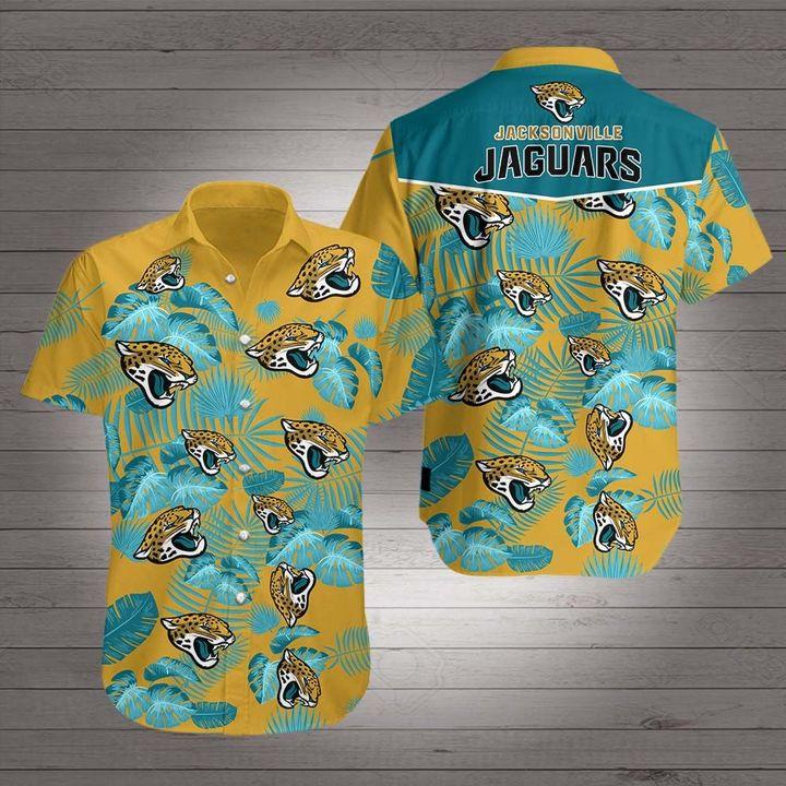 Jacksonville jaguars hawaiian shirt 4