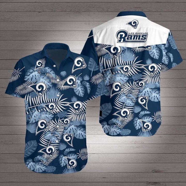 Los angeles rams hawaiian shirt 2