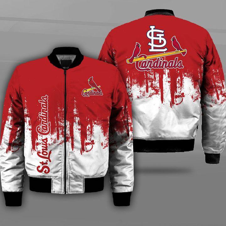 MLB st louis cardinals full printing bomber