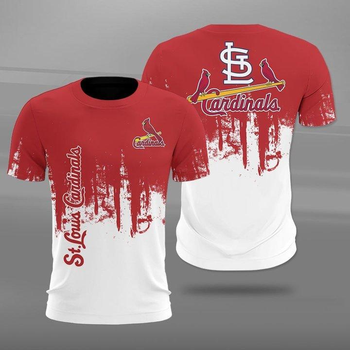 MLB st louis cardinals full printing tshirt
