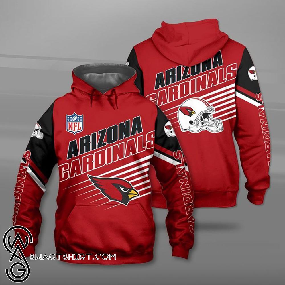 NFL arizona cardinals full printing shirt